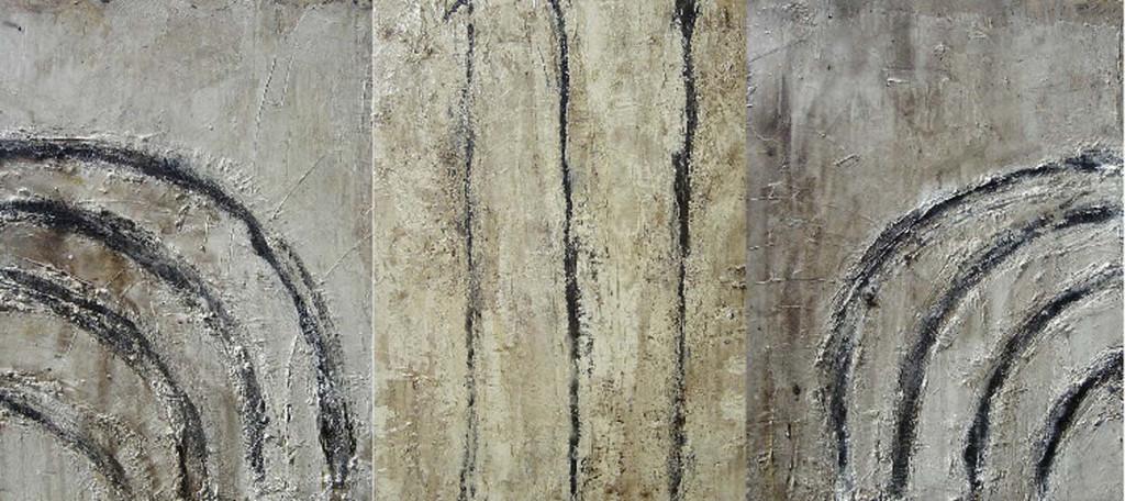 Amhurst Triptych 2006 1120x2505mm
