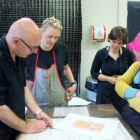 Non Toxic Printmaking workshop