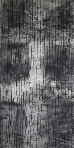 Decades - acrylic resist etching - 1175 x 600mm