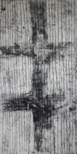 Eternal - acrylic resist etching - 1175 x 600mm